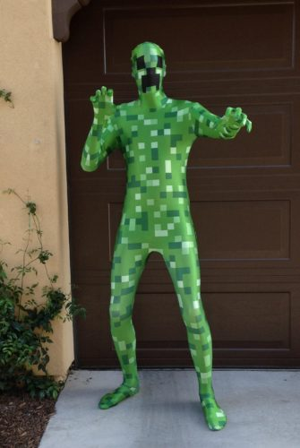 Green Pixel Monster