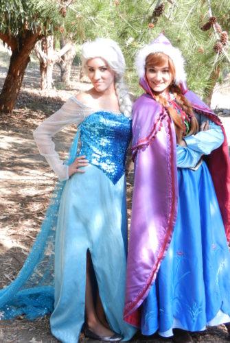 Snow Queen & Snow Girl